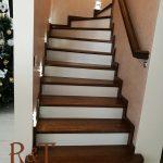 Лестница массив. Изготовление и монтаж