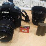 Комплект Canon EOS 5d + ef40 mm 2.8f + 28-80 usm