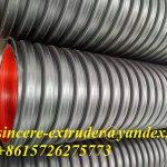 Экструзионная линия для спиральной навитой трубы